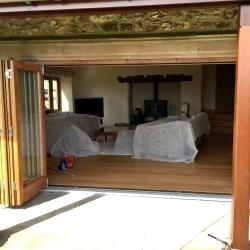 Solid Oak hardwood bi-fold doors, Exeter