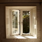 James Riggall Fine Joinery manufactured and installed stunning hardwood windows in Topsham
