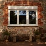 Hardwood window, Topsham, nr Exeter, Devon