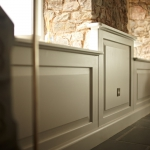Stunning bespoke wall panelling by James Riggall Fine Joinery Exeter