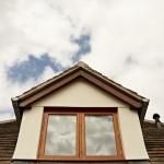 Solid Oak, traditional casement windows in near Exeter, Devon