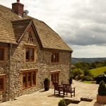 Solid Oak hardwood casement windows, near Exeter